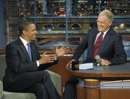 Obama & Letterman