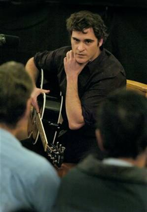 "On the set of ""Walk the Line,"" Joaquin Phoenix learned to explore his feelings."